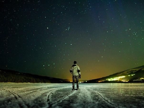 独り見上げる夜空の星image