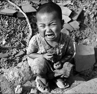 原爆地の子供の悲しみimage