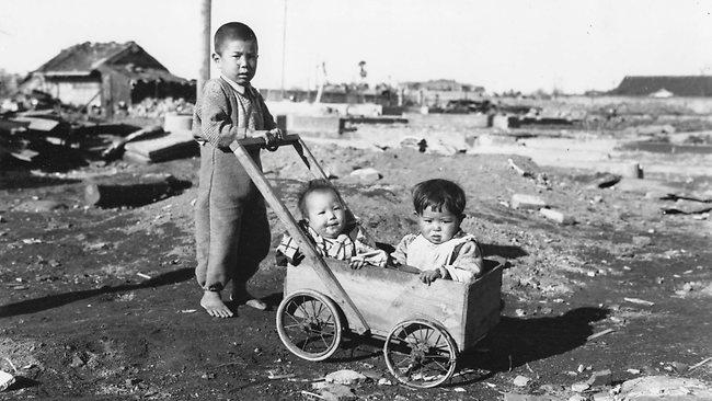 原爆投下後広島の子供たち1hiroshima