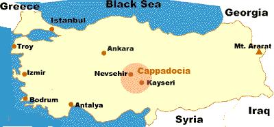 カッパドキア地図1mage