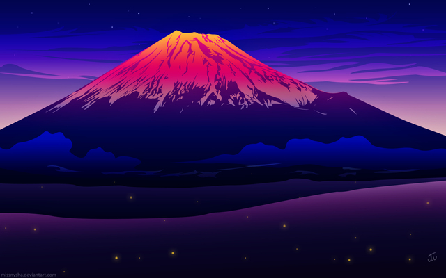 富士山アートimage