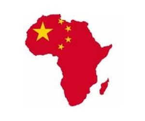 赤く染まるアフリカimage