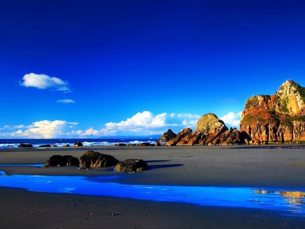 夏の海と空image
