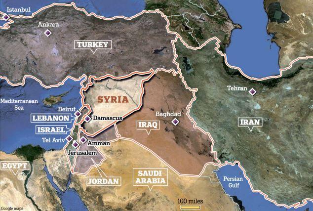 シリアの周辺imagejpg