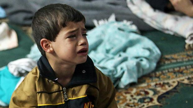 シリアの子供の涙image