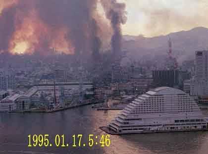 阪神大震災発生時のimage