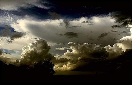 雷雲のimage