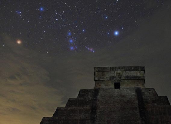 オリオン座とピラミッドimagel