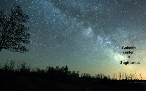 銀河を見るimage