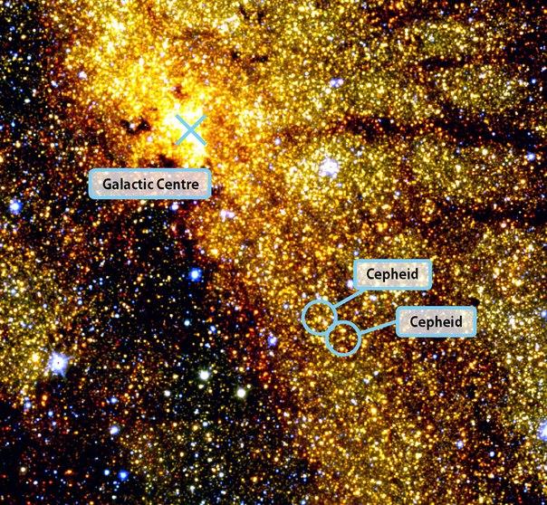 銀河の中心image