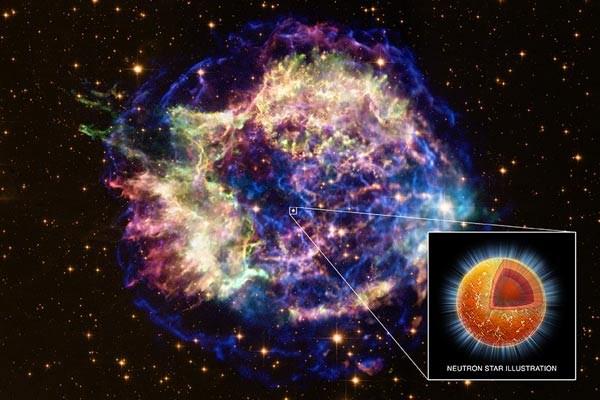 中性子星の爆発image