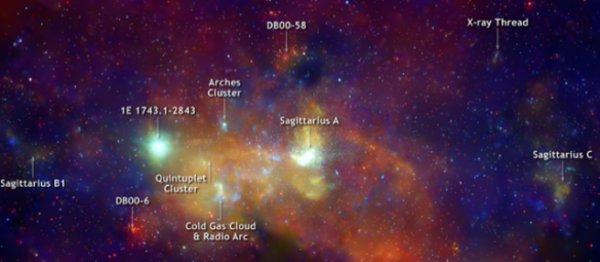 射手座と銀河の中心2image