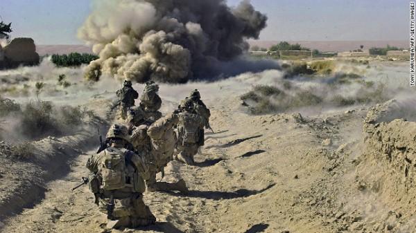 戦場の兵士image
