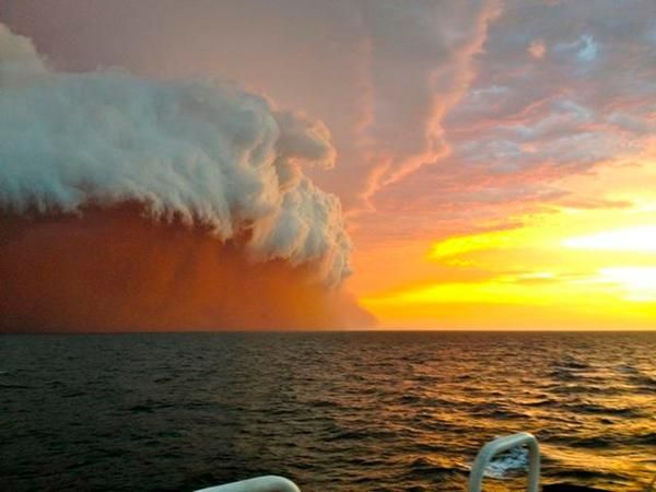 オーストラリア海上の砂嵐のimage