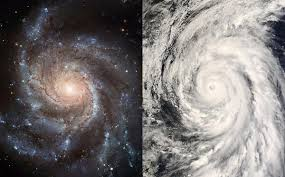台風と銀河の相似image