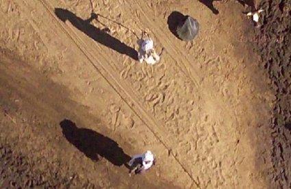 スパイ衛星の撮った画像image