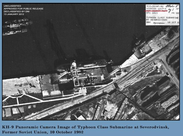 アメリカのスパイ衛星画像image