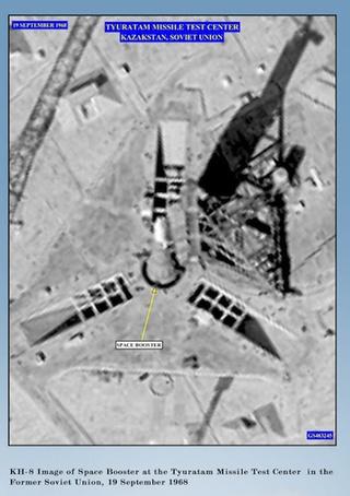 アメリカのスパイ衛星の画像image