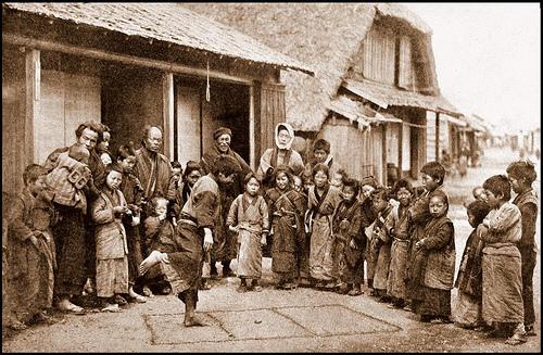 昔の日本の子供たちの風景image