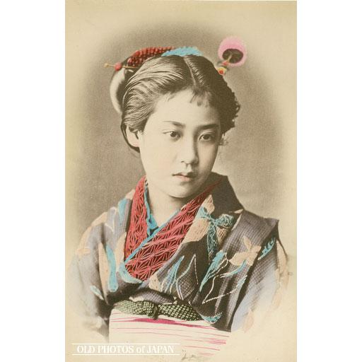 昔の美人4(1880年代)image