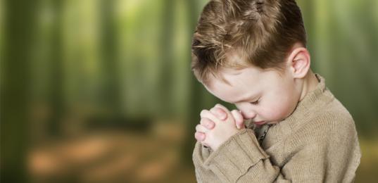 祈る子供のimage