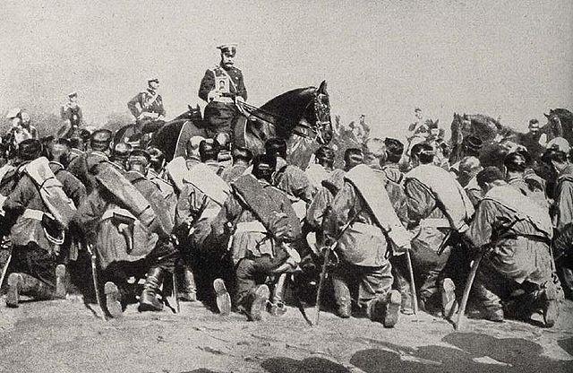 ロシア革命のころのニコライ2世image