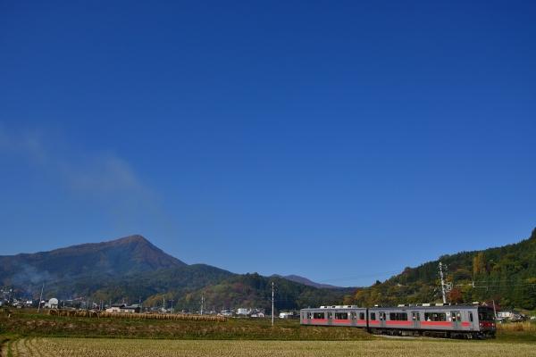 2014年10月30日 上田電鉄別所線 別所温泉~八木沢 1000系1001F