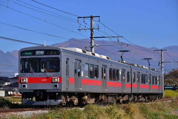 2014年10月30日 上田電鉄別所線 三好町~赤坂上 1000系1001F