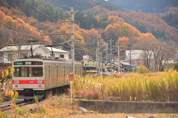 2014年11月15日 上田電鉄別所線 八木沢~別所温泉 1000系1001F