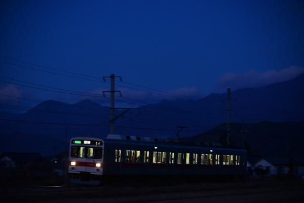 2014年11月15日 上田電鉄別所線 中野~舞田 1000系1004F