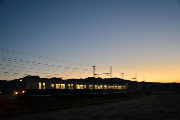 2014年11月16日 上田電鉄別所線 下之郷~中塩田 7200系7255F