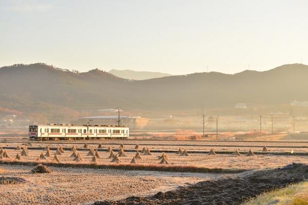 2014年11月16日 上田電鉄別所線 下之郷~中塩田 1000系1001F