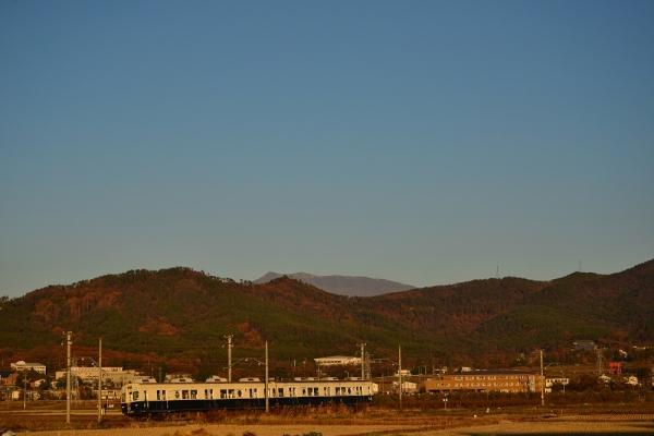 2014年11月19日 上田電鉄別所線 下之郷~中塩田 7200系7255F