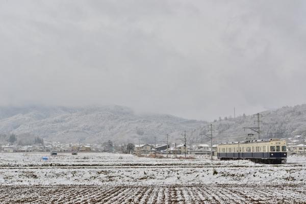 2014年12月6日 上田電鉄別所線 八木沢~舞田 7200系7255F