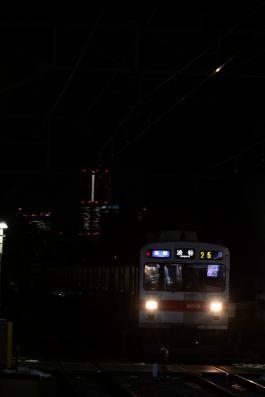 2013年1月17日 東急東横線 妙蓮寺 9000系9010F