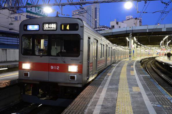 2013年1月18日 東急東横線 渋谷 9000系9012F