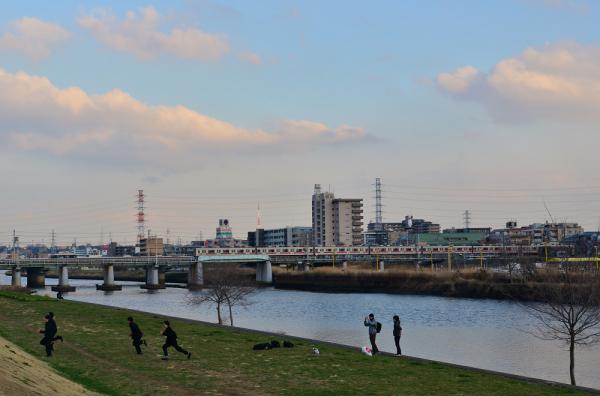 2013年3月4日 東急東横線 大倉山~綱島 9000系9012F