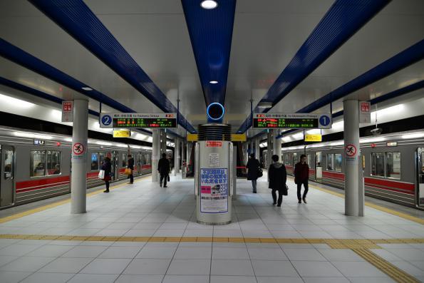 2013年3月6日 横浜高速みなとみらい線 みなとみらい 9000系9012F・9001F