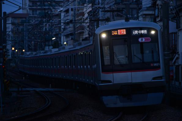 2013年3月7日 東急東横線 妙蓮寺~白楽 5000系5121F