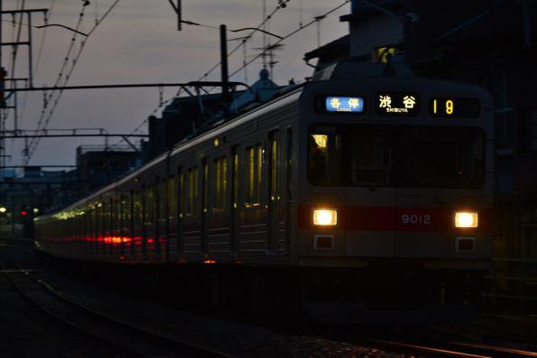 2013年3月7日 東急東横線 白楽~妙蓮寺 9000系9012F