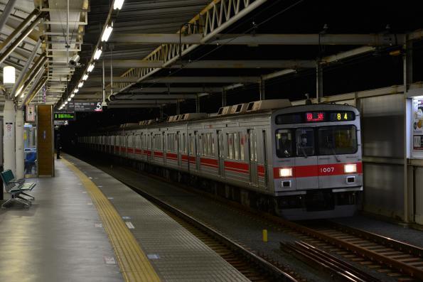 2013年3月15日 東急東横線 元住吉 1000系1007F 東横線1000系最終運行