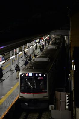 2013年3月16日 東急東横線 菊名 5050系5174F 最終渋谷行き