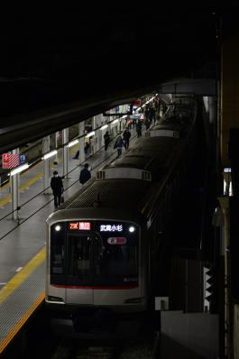 2013年3月16日 東急東横線 菊名 5050系5165F 武蔵小杉から各停渋谷行き・地上渋谷最終営業列車
