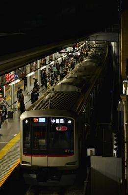 2013年3月16日 東急東横線 菊名 5050系5168F 渋谷駅切り替え工事に伴う中目黒行き