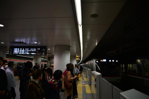 2013年3月20日 東急東横線 渋谷