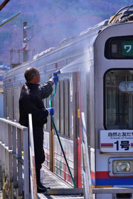 2013年3月21日 上田電鉄別所線 下之郷 1000系1002F