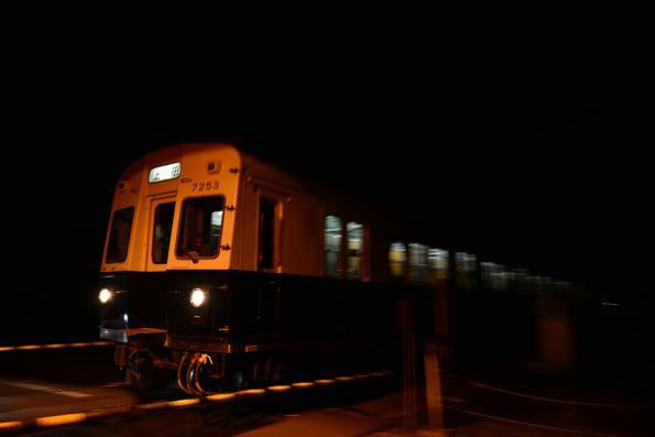 2013年3月27日 上田電鉄別所線 赤坂上~三好町 7200系7253F