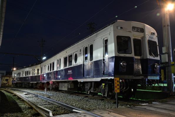 2013年3月27日 上田電鉄別所線 下之郷 7200系7253F