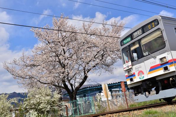 2013年4月11日 上田電鉄別所線 三好町~赤坂上 1000系1002F