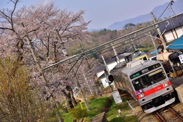 2013年4月17日 上田電鉄別所線 別所温泉 1000系1004F